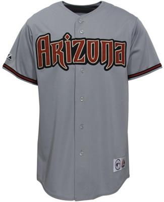 pretty nice 4cda5 a7cbf arizona diamondbacks away jersey