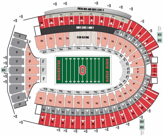 Pictures Of Ohio State Football Stadium Seating